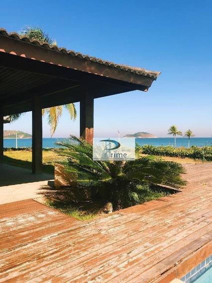 Casa Com 5 Dormitórios À Venda, 973 M² Por R$ 5.800.000,00 - Camboinhas - Niterói/rj - Ca0743