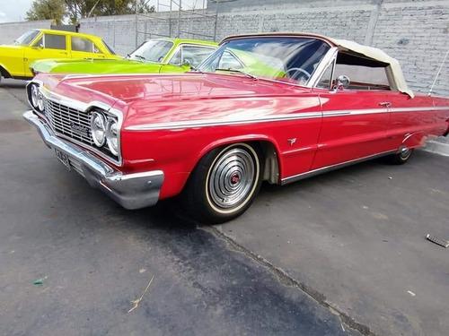 Imagen 1 de 15 de Coupe Chevrolet Impala 1964 Ss Convertible