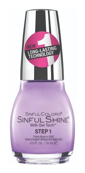 Esmaltes Para Uñas Professional Efecto Gel Sinful Colors