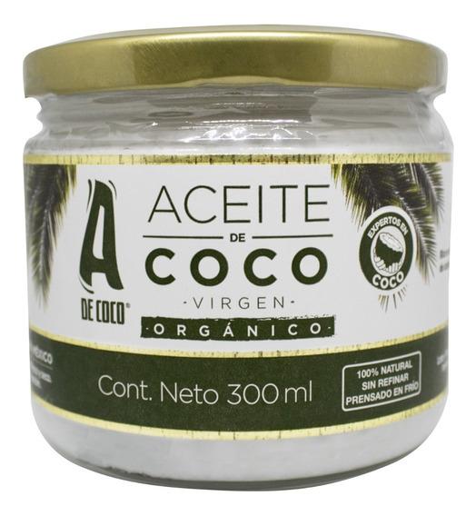 Aceite De Coco Virgen Orgánico 300 Ml - L a $159
