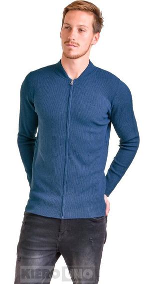 Campera De Lana Sweater Hombre Saco Cierre Pullover Kierouno