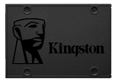 Imagen 1 de 3 de Disco sólido SSD interno Kingston SA400S37/480G 480GB negro