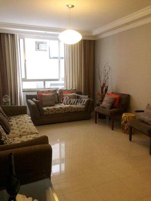 Apartamento Com 3 Dorms, Embaré, Santos - R$ 850 Mil, Cod: 560 - V560