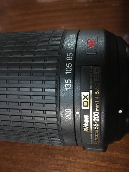 Lente Nikon 55 -200mm