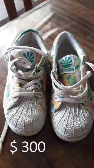 Zapatillas Casi Nuevas Kioshi