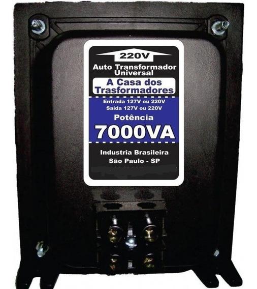 Auto Transformador Bivolt 7000va Conector Sindal