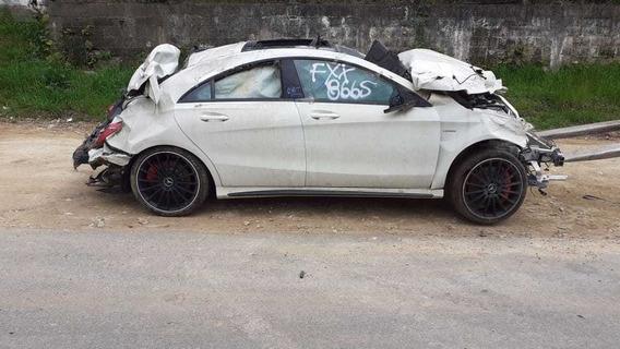 Mercedes Benz Cla 45 Kit Airbag Motor Caixa De Cambio Sucata