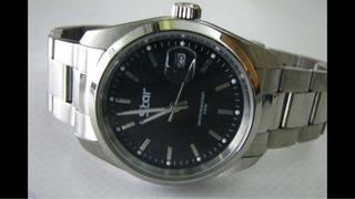 Reloj Star Quartz Con Lupa Acero Sumergible Original Usado