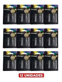 Caixa De Pilhas Aaa Maxprint Alcalina Com 12 Blister