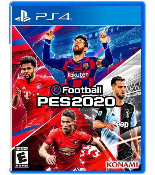 Jogo Pes 20 Pro Evolution Soccer 2020 Ps4 Midia Fisica Cd Original Novo Lacrado Português Futebol