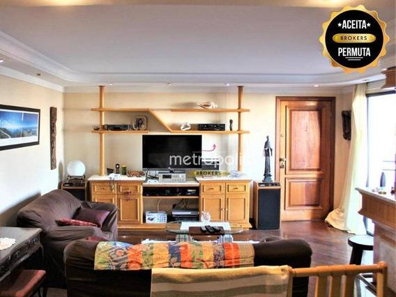 Abaixou O Valor! Apartamento Com 3 Dormitórios À Venda, 157 M² Por R$ 595.000 - Santa Paula - São Caetano Do Sul/sp - Ap0523