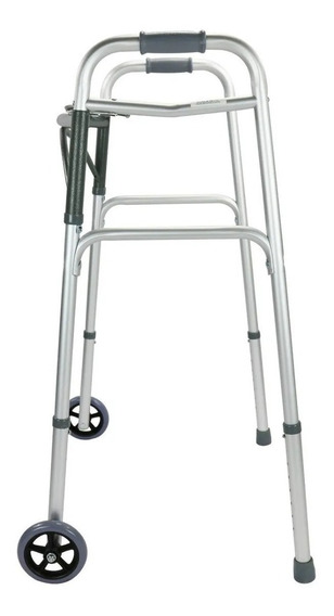 Andadera Ortopédica Adulto Aluminio Ruedas Plegable Drive M