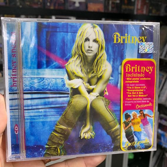 Britney Spears - Britney Cd Original De Epoca Lacrado