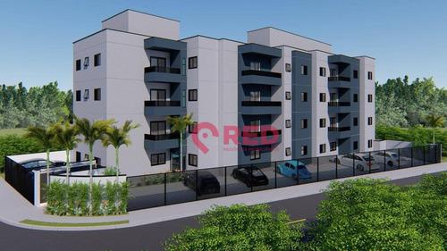 Apartamento Com 2 Dormitórios À Venda, 58 M² Por R$ 188.900,00 - Jardim Guarujá - Sorocaba/sp - Ap0180
