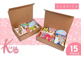 Dulces Japoneses Pocky Ramune Kissa Box Clasica