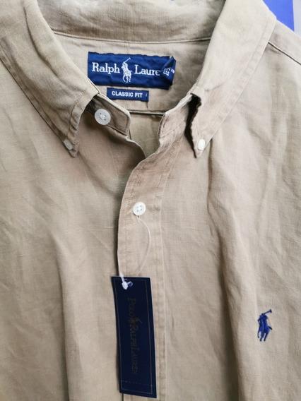 Camisa Polo Ralph Lauren Xxl Original Lino (no Guess, Tommy)