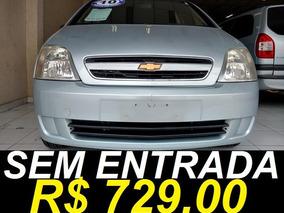 Chevrolet Meriva Joy 1.4 Único Dono 2010 Prata