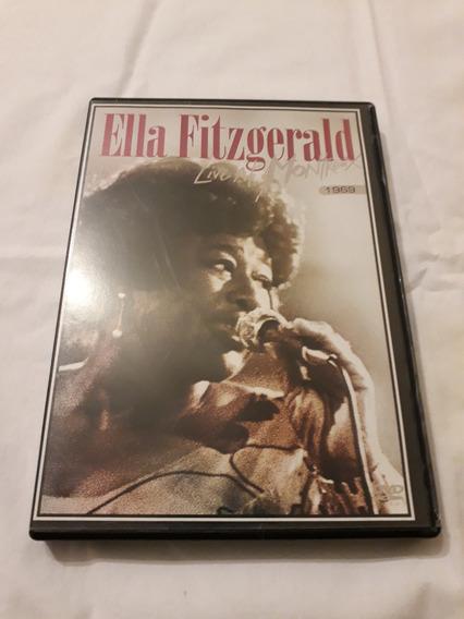 Dvd Ella Fitzgerald Live In Momtreux 1969