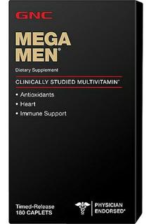 Mega Men 180 Caps Gnc Multivitaminico (( P R O M O Ç Ã O ))