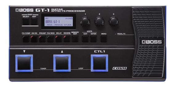 Pedaleira Multi-efeitos Para Guitarra Gt-1 - Boss