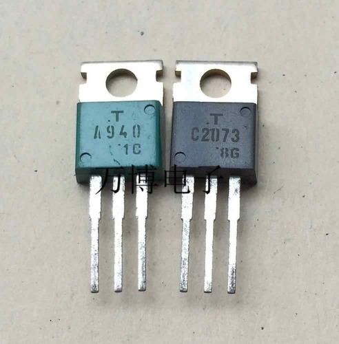 Imagen 1 de 2 de 2sc 2073 2sa940transistor C2073 A940 150v 1.5a Original Fairchild