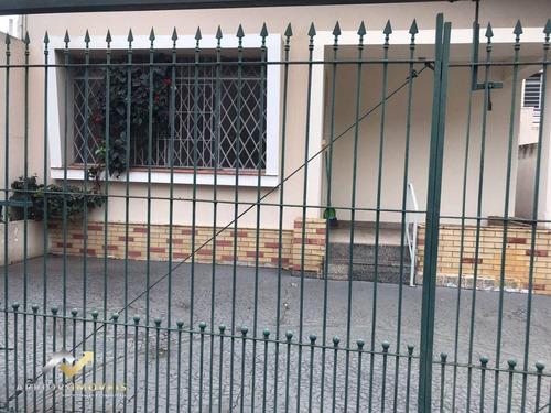 Imagem 1 de 17 de Casa Com 3 Dormitórios Para Alugar, 159 M² Por R$ 4.500/mês - Centro - Santo André/sp - Ca0737