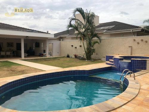 Imagem 1 de 30 de Casa Com 3 Dormitórios À Venda, 347 M² Por R$ 1.600.000,00 - Condomínio Campos De Santo Antônio - Itu/sp - Ca1155