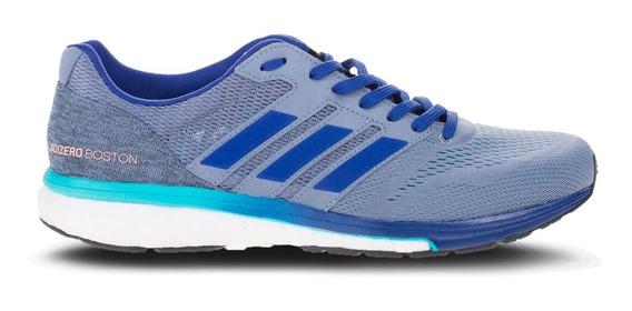Tenis De Competencia adidas Adizero Boston 7 Hombre Correr