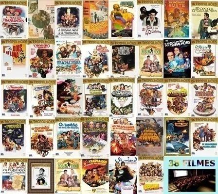 Coleção Completíssima - Os Trapalhões - 38 Filmes (download)