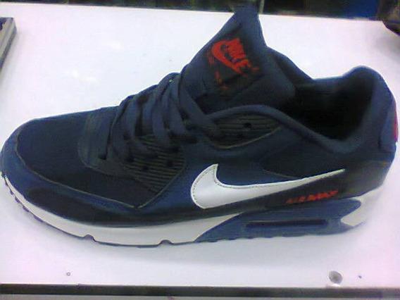 Tenis Nike Air Max 90 Azul E Branco Nº39 Original Na Caixa!