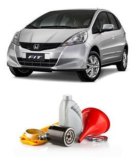 Cambio De Aceite Y Filtro P/ Honda Fit 1.4 + Lavado Gratis