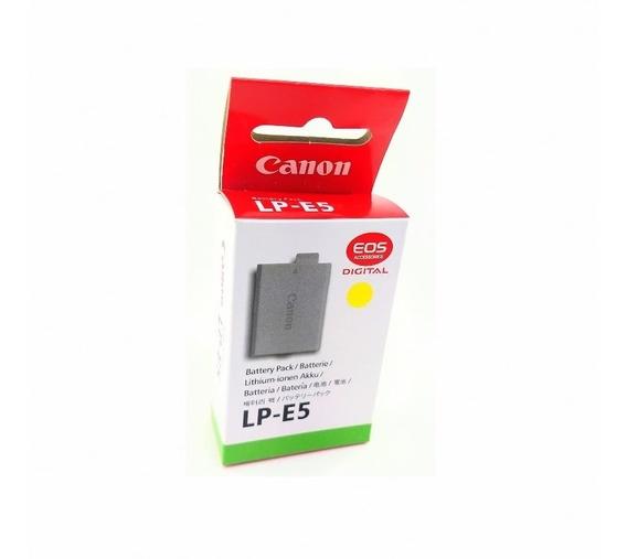 Bateria Original Canon Lp-e5 450d Rebel X2 Xsi 1000d T1i Eos