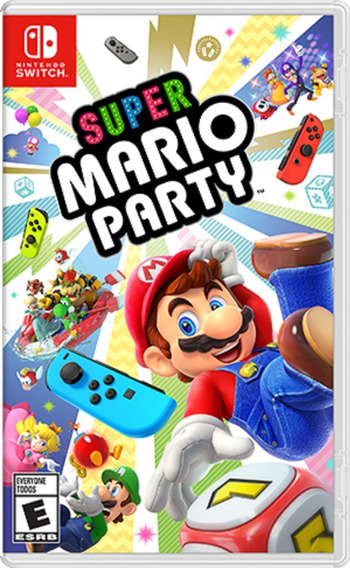 Super Mario Party Switch Mídia Física Pronta Entrega