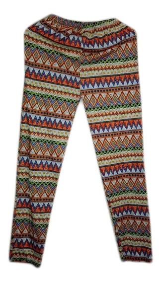 Pantalon Leggins Talla S Colorido Patrones Dama Nuevo