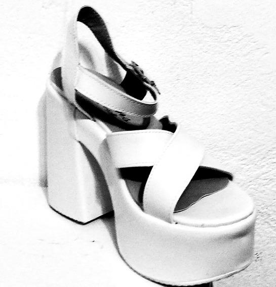 Zapatos Sandalias Taco Plataforma Calzados Comodas Y Livianas Mujer Fiorcalzados