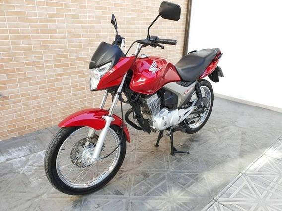 Honda Cg 150 Titan Esd Vermelho 2013