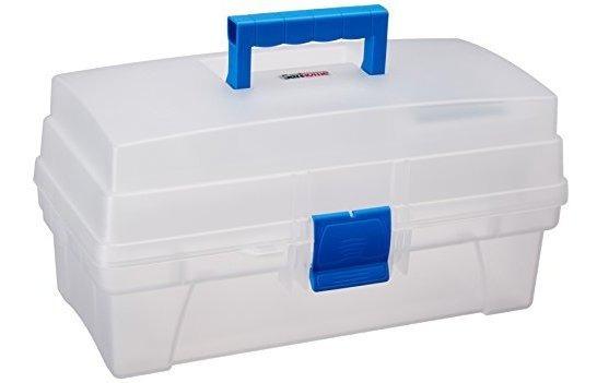 Santul 6435 Caja Vanity Transparente/azul 14