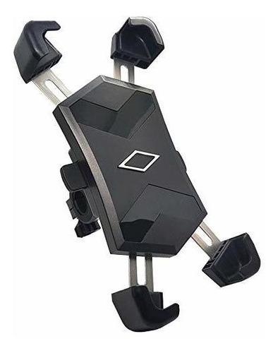 Imagen 1 de 5 de Bike Phone Mount, One-second Lock, 360°rotation Adjustable