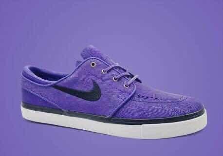 Nike Sb Zoom Stefan Janoski Woodgrain Purple Qs