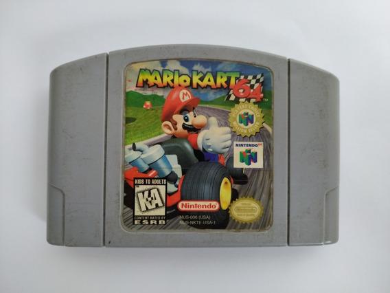 Mario Kart 64 Original Americano Nintendo 64