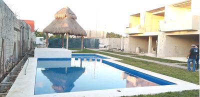 Cancun Casas En Venta, Privada, Alberca, Poligono Sur