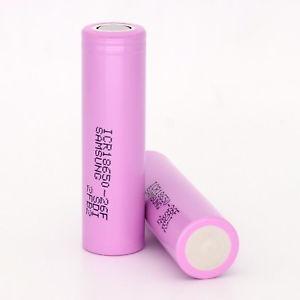 10 Bateria Recarregavel Li-ion 3,7v 18650 2000mah Lithium