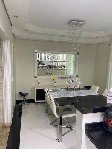 Imagem 1 de 18 de Casa Com 3 Dormitórios À Venda, 480 M² Por R$ 2.500.000,00 - Jardim - Santo André/sp - Ca0620