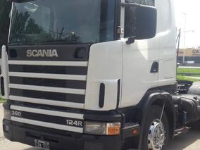 Scania R124 La 360 6x2