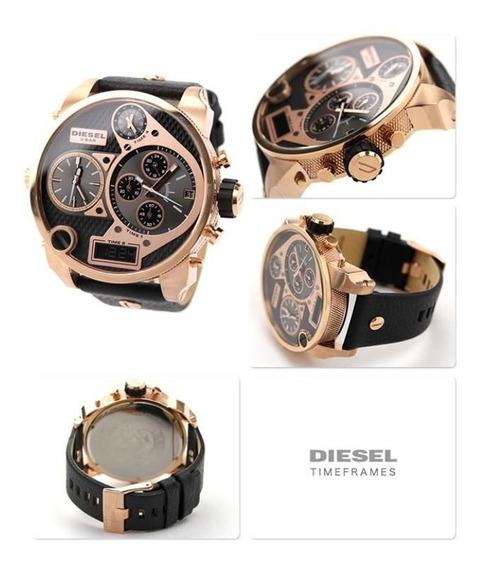 Relógio Diesel Dz7261 Dourado Original