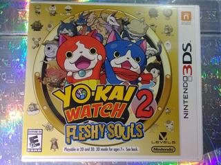 Juego Yokai Yo-kai Watch 2 Fleshy Souls 3ds Nintendo 2ds
