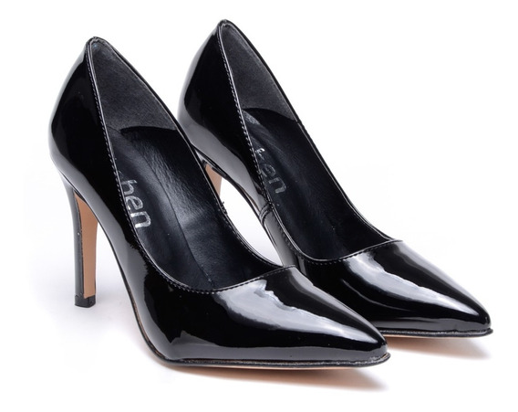 Sandalias Mujer Fiesta Zapatos Taco Fino Moda Heben Calzados