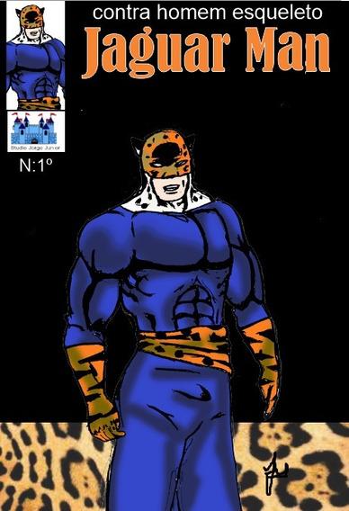 Revista Em Quadrinhos Juvenil Jaguar Man