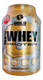 3 Whey Protein 2lbs Promo Gold Nutrition Formula Usa
