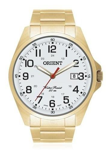 Relogio Orient Mgss1048 S2kx Analogico Dourado